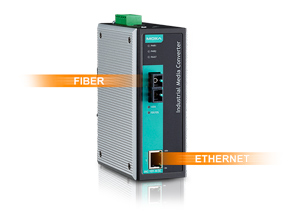 Fiber optic converters in Ethernet networks. Application instructions